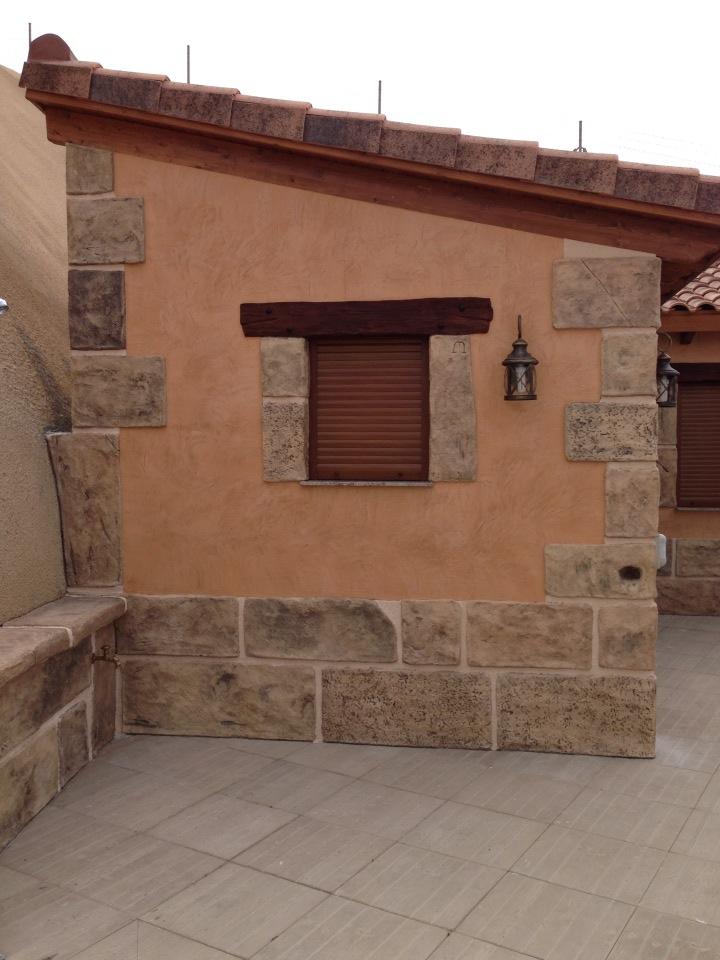 Piedra decoraci n y piedra - Decoracion imitacion piedra ...